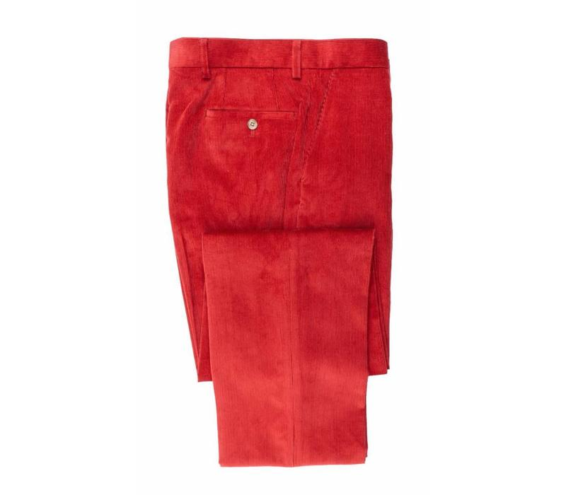 Needlecord Trousers - Red
