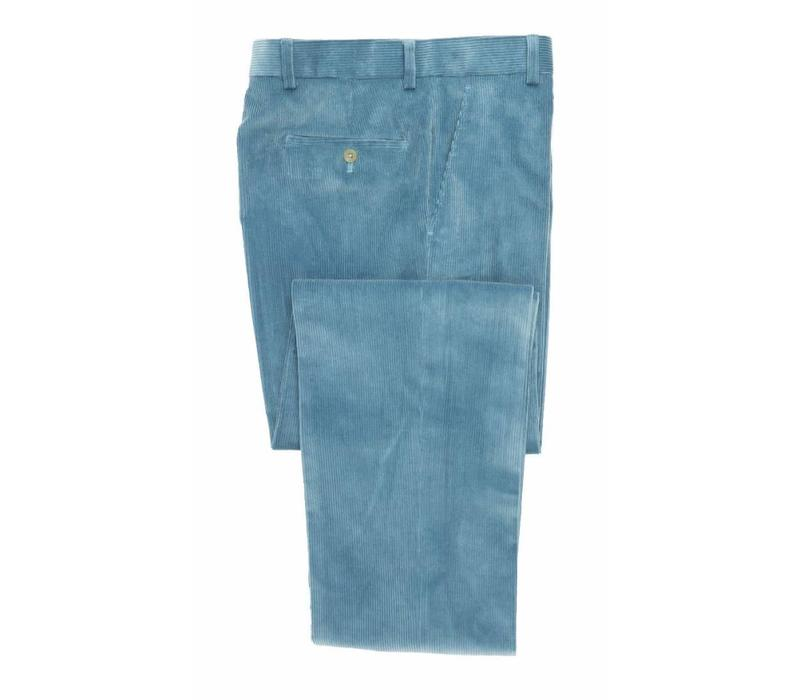Needlecord Trousers - Sky Blue