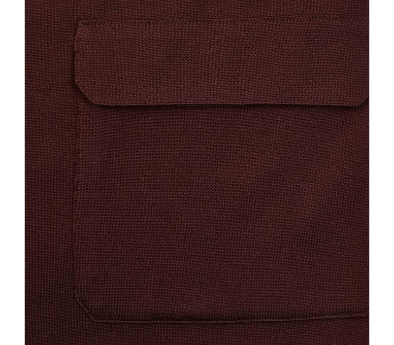 Cashmere Teba Jacket - Burgundy