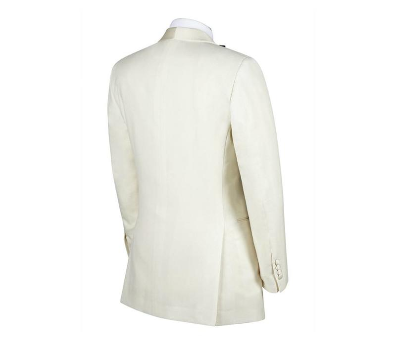 Single Breasted White Dinner Jacket