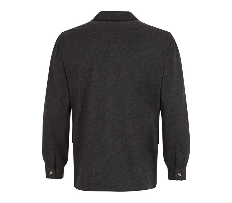 Wool Teba Jacket - Soft Grey