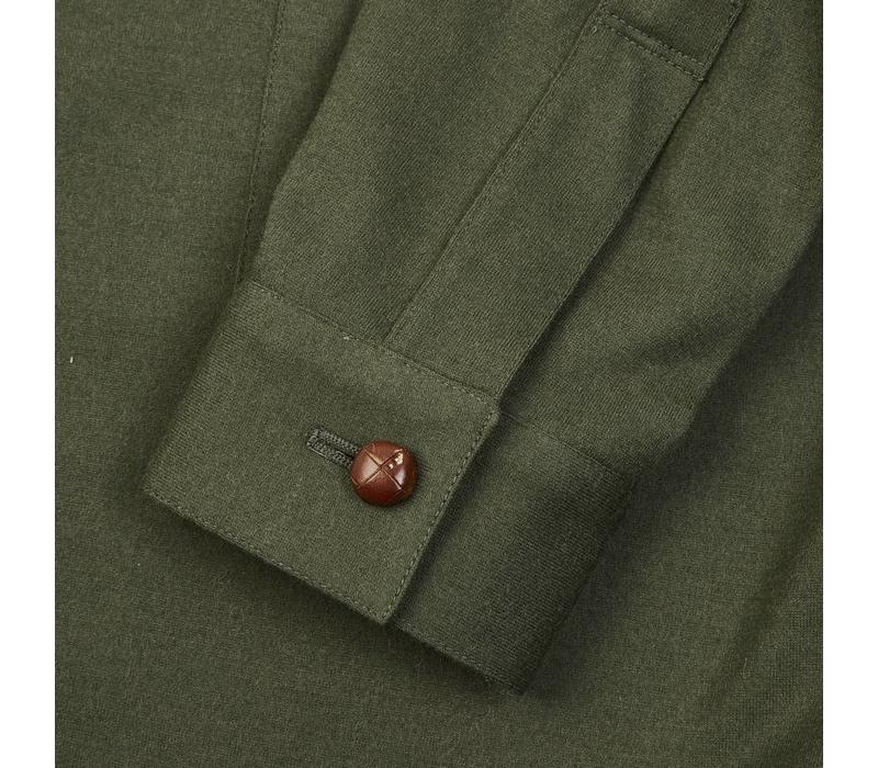 Wool Teba Jacket - Moss Green
