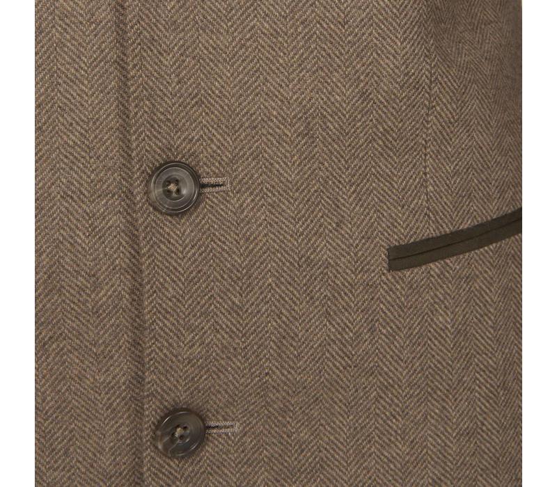 Austrian Jacket - Fawn Herringbone