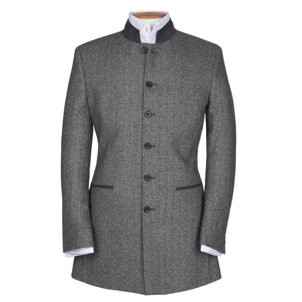 Austrian Jacket - Grey Herringbone