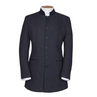 Austrian Jacket - Navy Herringbone