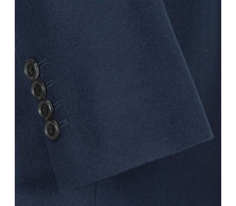 Austrian Jacket - Navy Linen