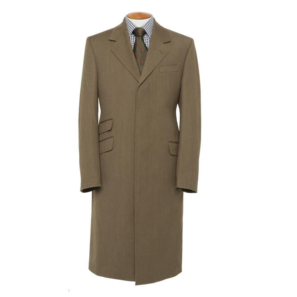 Covert Coat, Covert Collar - Brown