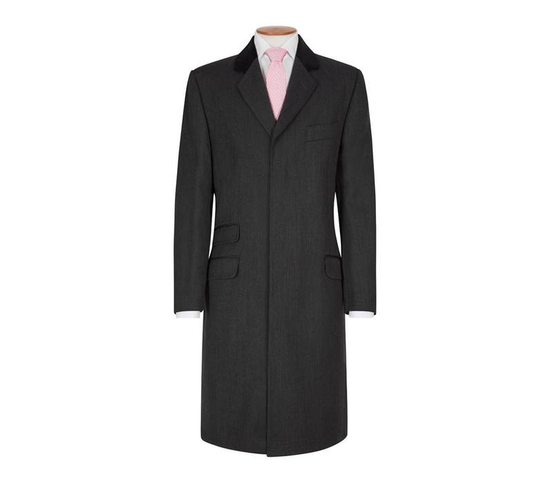 Covert Coat, Covert Collar - Charcoal