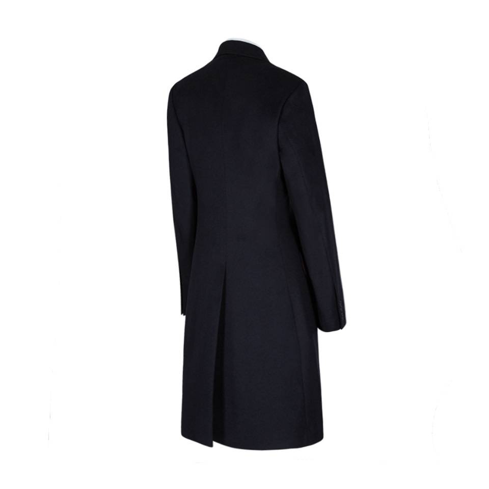6d866c37b7 Single Breasted Pure Cashmere Overcoat