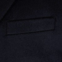 Single Breasted Overcoat -  Pure Cashmere