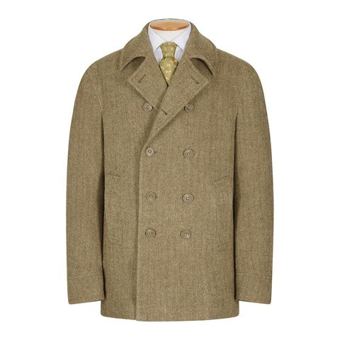 Deveron Tweed Pea Coat
