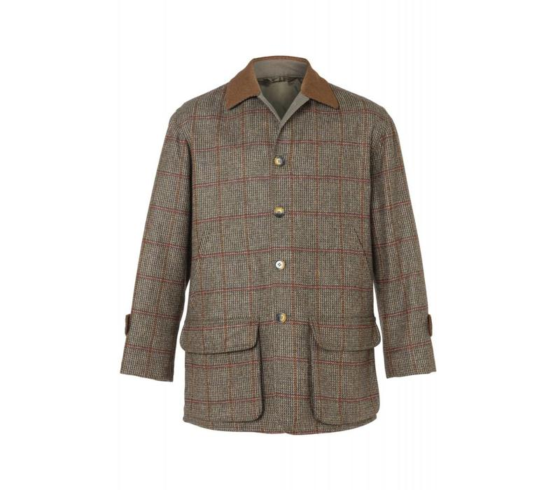 Luigi Tweed Jacket - Brown