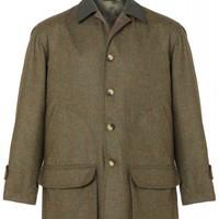 Luigi Tweed Jacket - Green