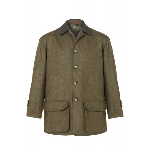 Luigi Tweed Jacket - Green