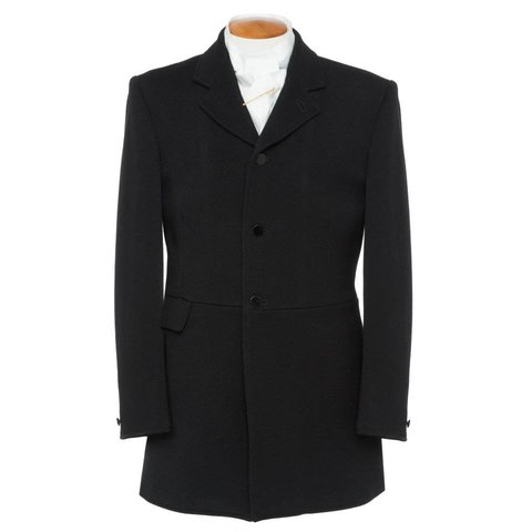 Mens Traditional Black Hunting Coat