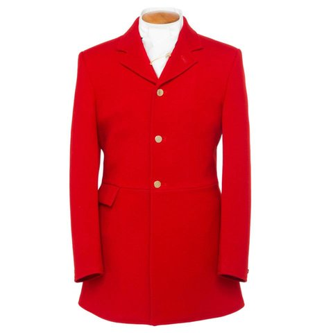 Mens Hunt Coat - Red
