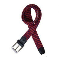 Tyler and Tyler Belt, Red and Blue Zig Zag
