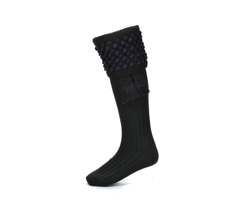 Angus Shooting Socks - Dark Loden