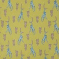 Silk Tie, Monkey - Yellow/Pink