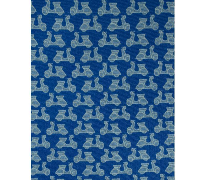 Fine Silk Tie, Vespa - Blue