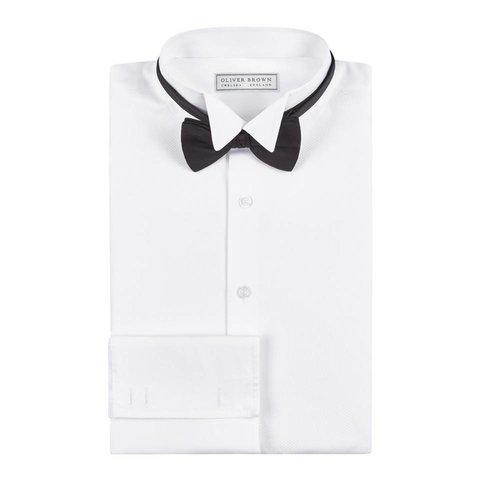 Marcella Dress Shirt, Wing Collar