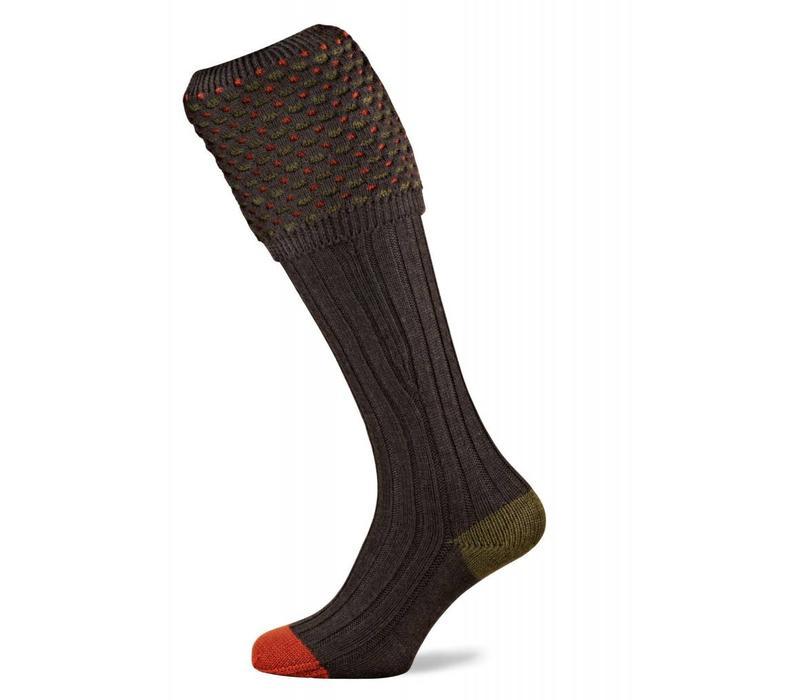 Ambassador Shooting Socks - Mocha