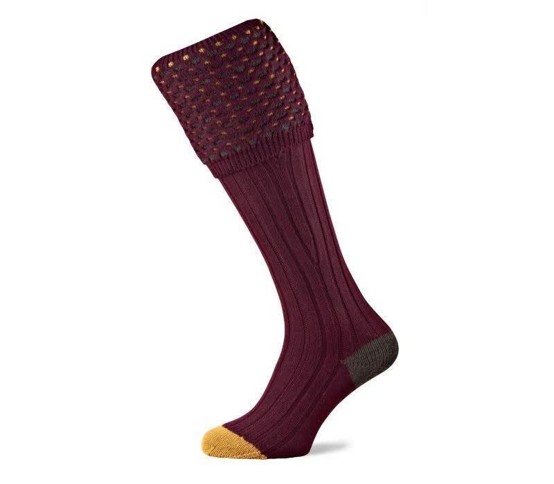 Ambassador Shooting Socks - Burgundy