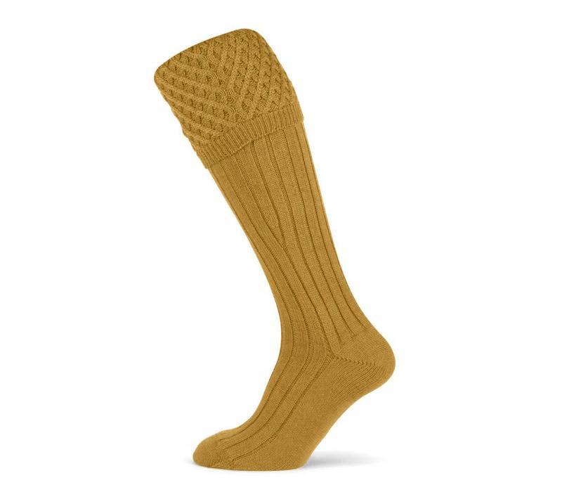 Chelsea Shooting Socks - Gold