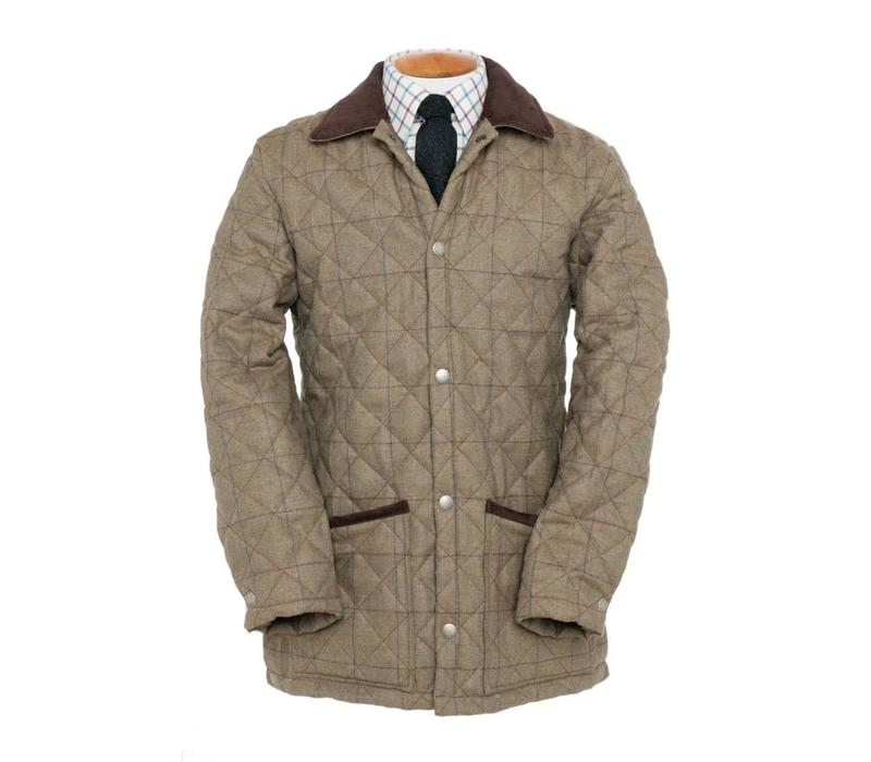 Leith Tweed Quilted Jacket