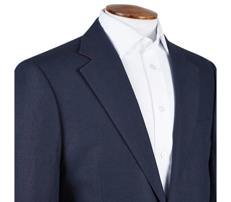 Ebury Jacket - Navy Linen
