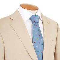 Single Breasted Cotton Jacket - Beige