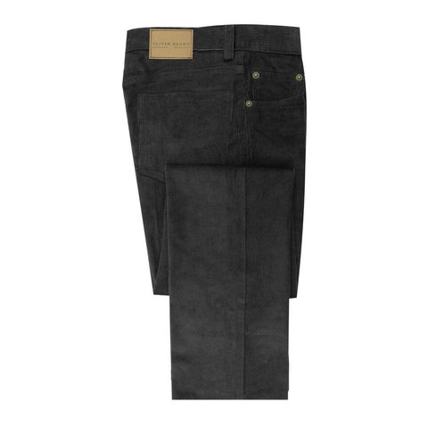 Needlecord Jeans - Black
