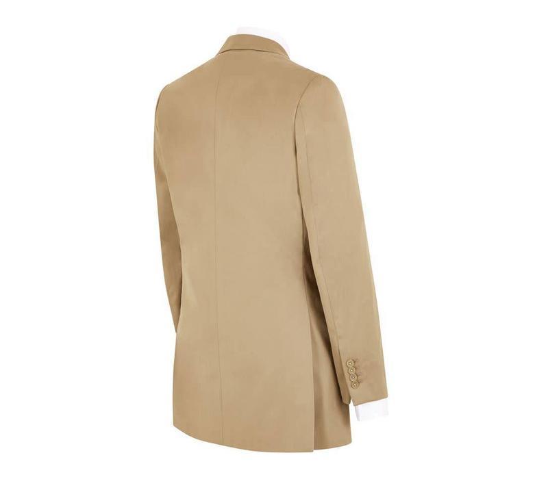 Eaton Jacket - Dark Beige Cotton