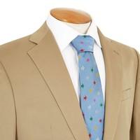 Single Breasted Cotton Jacket - Dark Beige