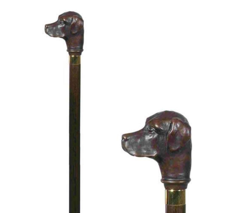 Labrador Head Walking Stick