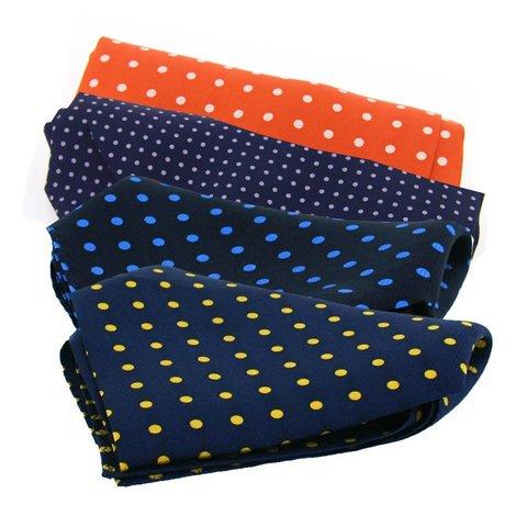 Silk Handkerchiefs, Polka Dot