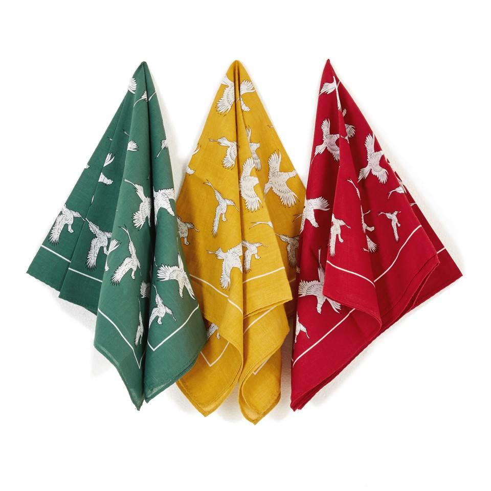Cotton Handkerchiefs Set, Sporting