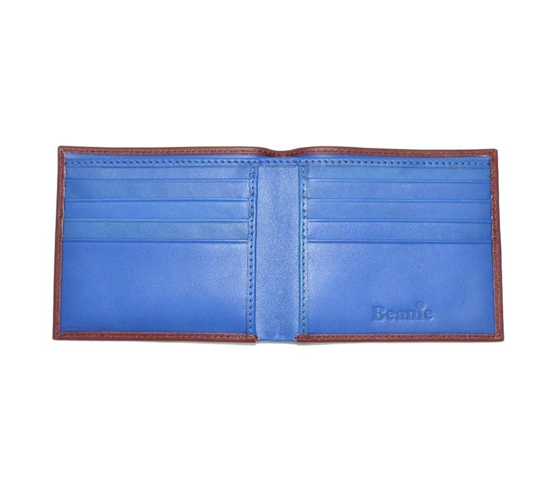 Coloured Wallet, 8 Card Pockets