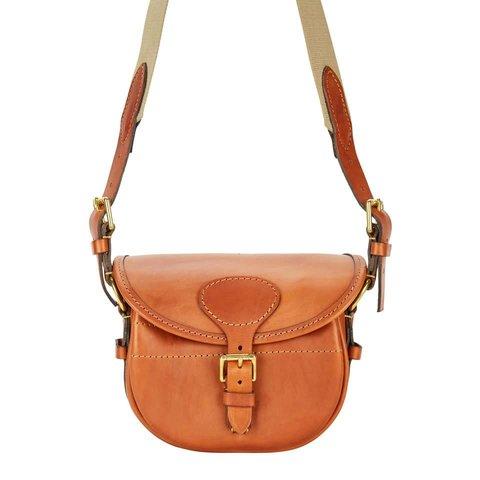 Best Leather Cartridge Bag - Tan