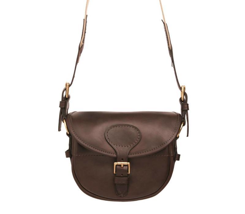 Mottled Leather Cartridge Bag