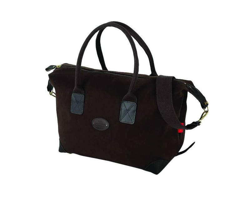 Chapman Canvas Classic Holdall - Brown