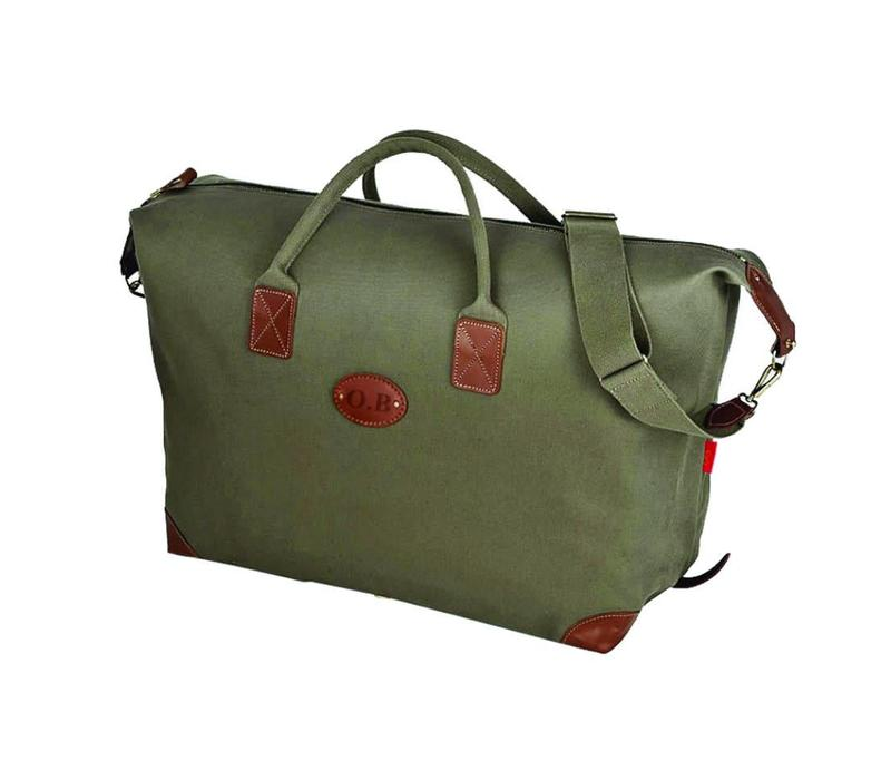 Chapman Canvas Classic Holdall - Olive Green