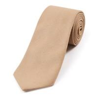 Wool Shooting Tie, Plain - Beige