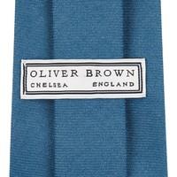 Wool Shooting Tie, Plain - Light Blue