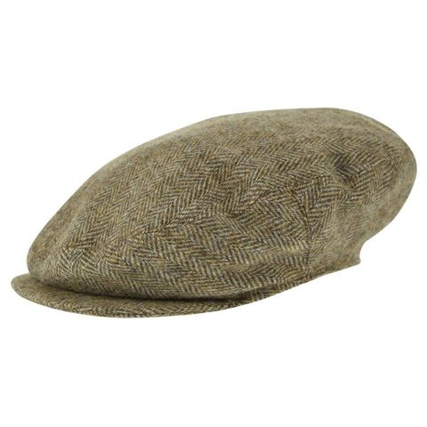 Oversize Deveron Tweed Cap