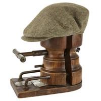 Oversize Deveron Tweed Cap