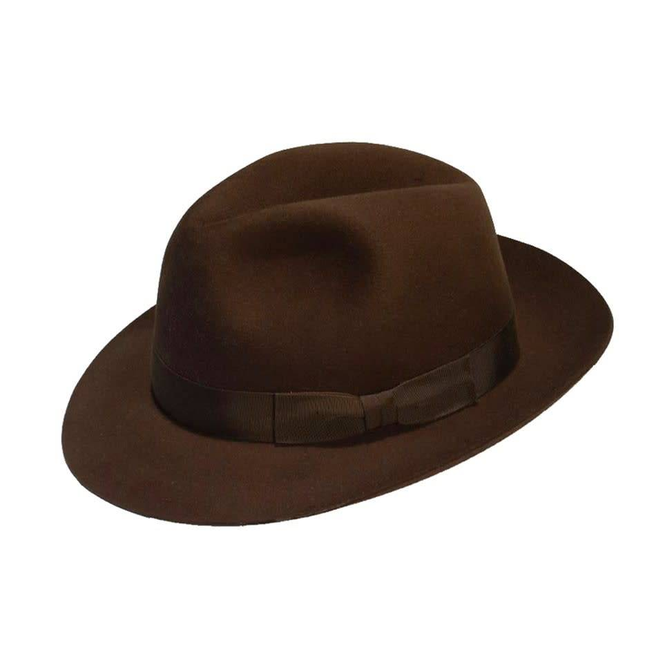 Trilby Hat - Brown - Oliver Brown 029190e4616