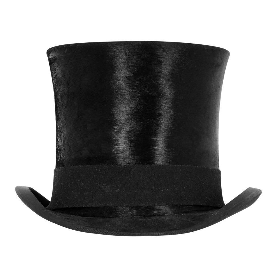 af5e8773cf4 Antique Silk Top Hat - Oliver Brown