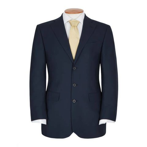 Edgerton Suit - Plain Navy