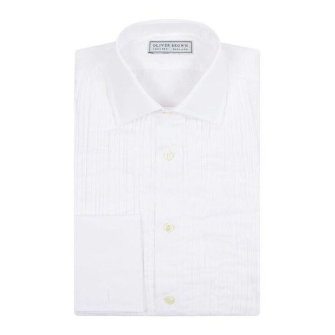 Pleated Dress Shirt
